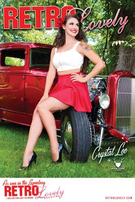 Crystal Lee Cover Poster