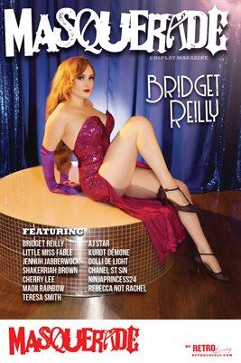 Masquerade No.6 – Bridget Reilly Cover Poster