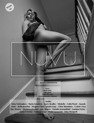Nuvu Magazine Nude Book 64 Featuring Scarlet Begonias