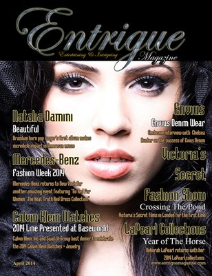 Entrigue Magazine April 2014
