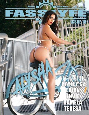 Fast Lyfe Magazine issue 18 Ft Alysha