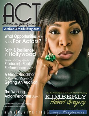 ACT Dance Model Sing Magazine Issue 33