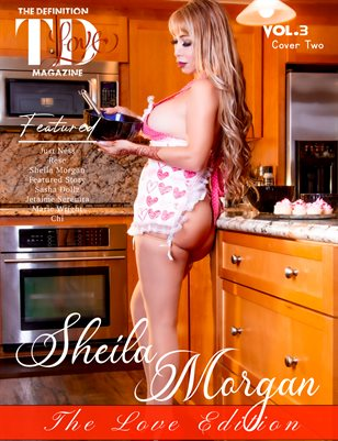 The Definition of Love: Sheila Morgan Vol.3 Cover 2