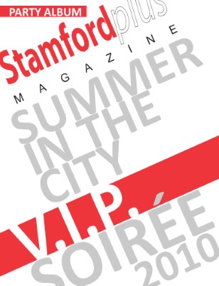 Stamford Plus magazine Summer in the City party