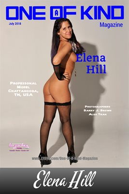 ONE OF A KIND MAGAZINE COVER POSTER - Cover Model Elena Hill - July 2018