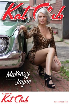 Kat Club No.39 – MaKenzy Jayne Cover Poster