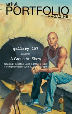 Artist Portfolio Magazine - Gallery 207 Group Art Show