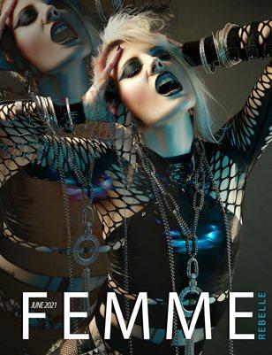 Femme Rebelle Magazine June 2021 REGULAR ISSUE - MyBoudoir Cover