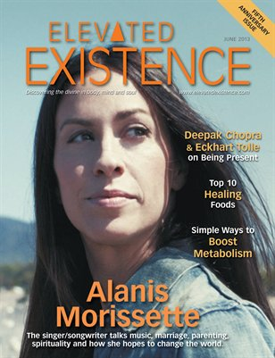 Elevated Existence June 2013 Issue with Alanis Morissette
