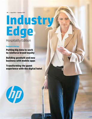 HP Industry Edge: Hospitality edition