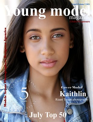 Young Model Magazine Issue 9 Volume 5 2021 July Top 50