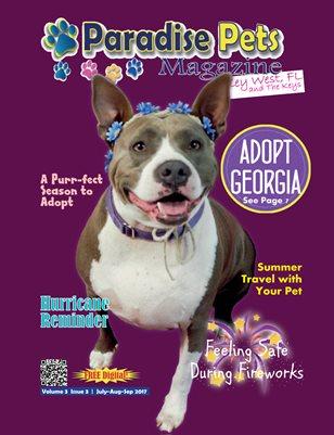 Paradise Pets Magazine, Key West, FL Vol. 3 Issue 3 July-Sept 2017