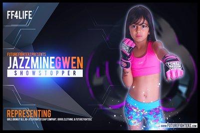 Jazzmine Gwen Futuristic - Poster