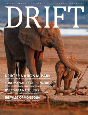 DRIFT Travel Magazine Nov/Dec 2019