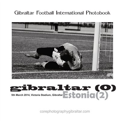 International Football - Gibraltar V Estonia