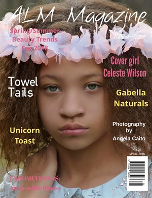 "ALM Child-Teen Magazine, ""Top Spring Models,"" Issue 72, Vol.1 April 2018-Celeste"