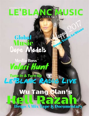 Le'Blanc Music Mag Vol. 11-Valeri Hunt