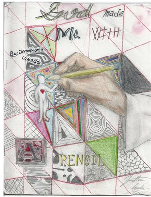 God Made Me With A Pencil By Jonathann Lozada