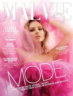 MALVIE Magazine The Artist Edition Vol 122 January 2021