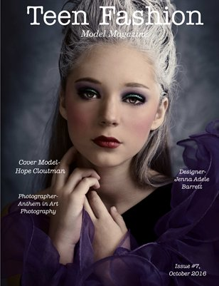 Issue #7 Teen Fashion Model Magazine