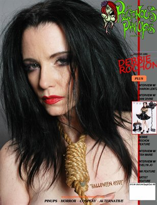 Poisonous Pinups Magazine Issue9 Debbie Rochon Special Cover