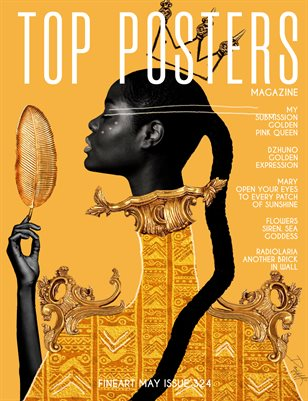 TOP POSTERS MAGAZINE - MAY FINEART (Vol 324)