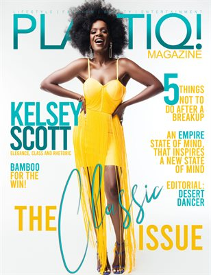 Plastiq! Magazine features Kelsey Scott