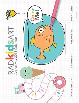 RADkidsART Calendar 2016
