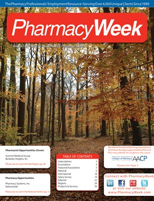 Pharmacy Week, Volume XXIV - Issue 42 - November 22 - December 5, 2015