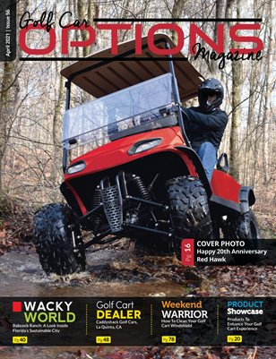 Golf Car Options Magazine - April 2021