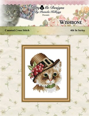 Wishbone Cross Stitch Cat Pattern