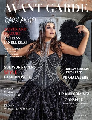 AVANT GARDE Magazine October Issue 2014