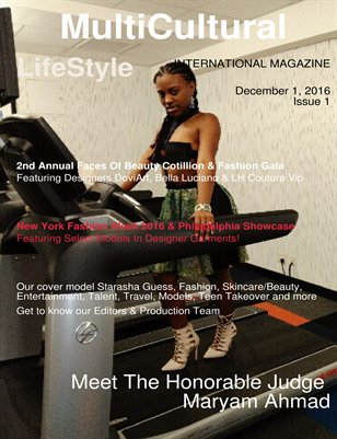 MultiCultural LifeStyle International Magazine Issue1