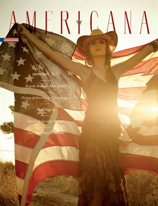 Americana Magazine - True Blue - Issue #3