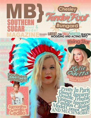 MB} Southern Sugar Talent & Model Magazine [November]