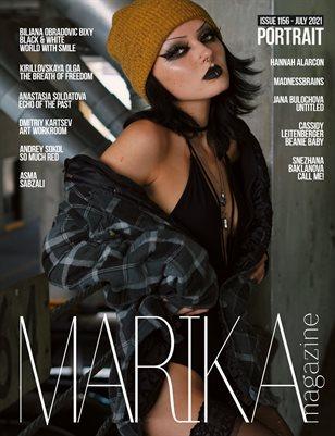 MARIKA MAGAZINE PORTRAIT (ISSUE 1156 - JULY)