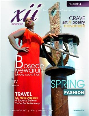 TWELVE Magazine FOUR 2014
