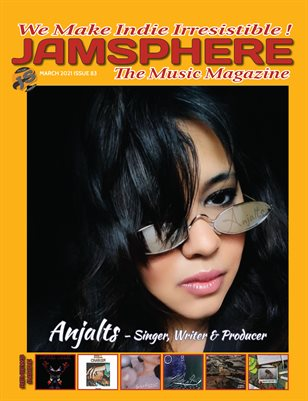 Jamsphere Indie Music Magazine March 2021