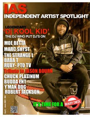 iAS Mag featuring Dj Kool Kid The Hood Legend