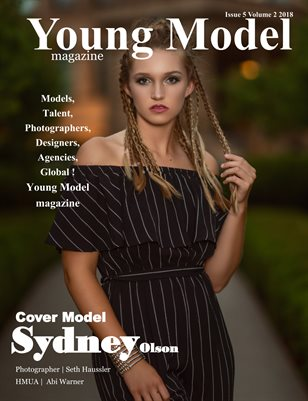 Young Model Magazine Issue 5 Volume 2 2018