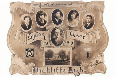 1929 Senior Class of Wickliffe High, Ballard County, Kentucky