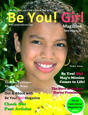 Be You! Girl Promotional Magazine