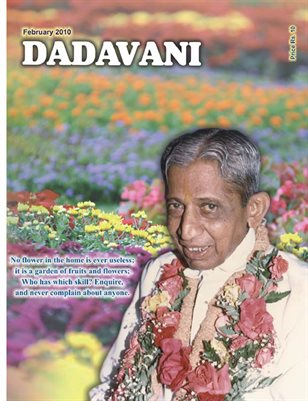 Know the art of living life without conflict (English Dadavani February-2010)
