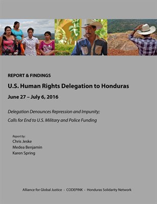 U.S. Human Rights Delegation to Honduras (Summer 2016)