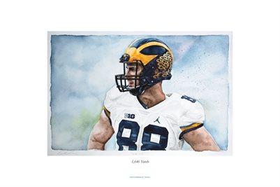 """1,646 Yards"" by Matthew B. Gordon University of Michigan Football"
