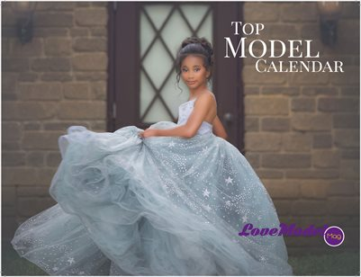 Top Model Faces Calendar 2019