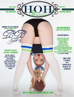 Hell on Heels Magazine Hawks Special Issue #3