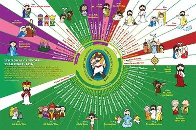 Happy Saints Liturgical Calendar 2016