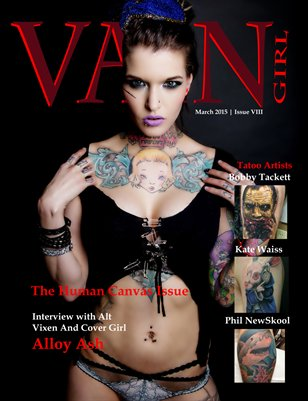 The Human Canvas issue 8