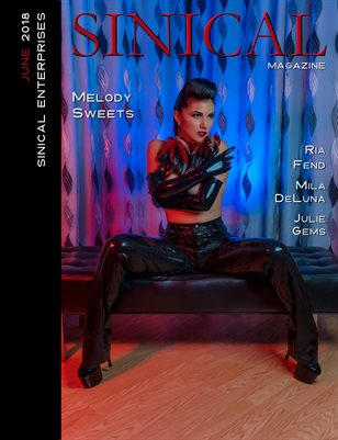 Sinical June 2018 issue - Melody Sweets cover